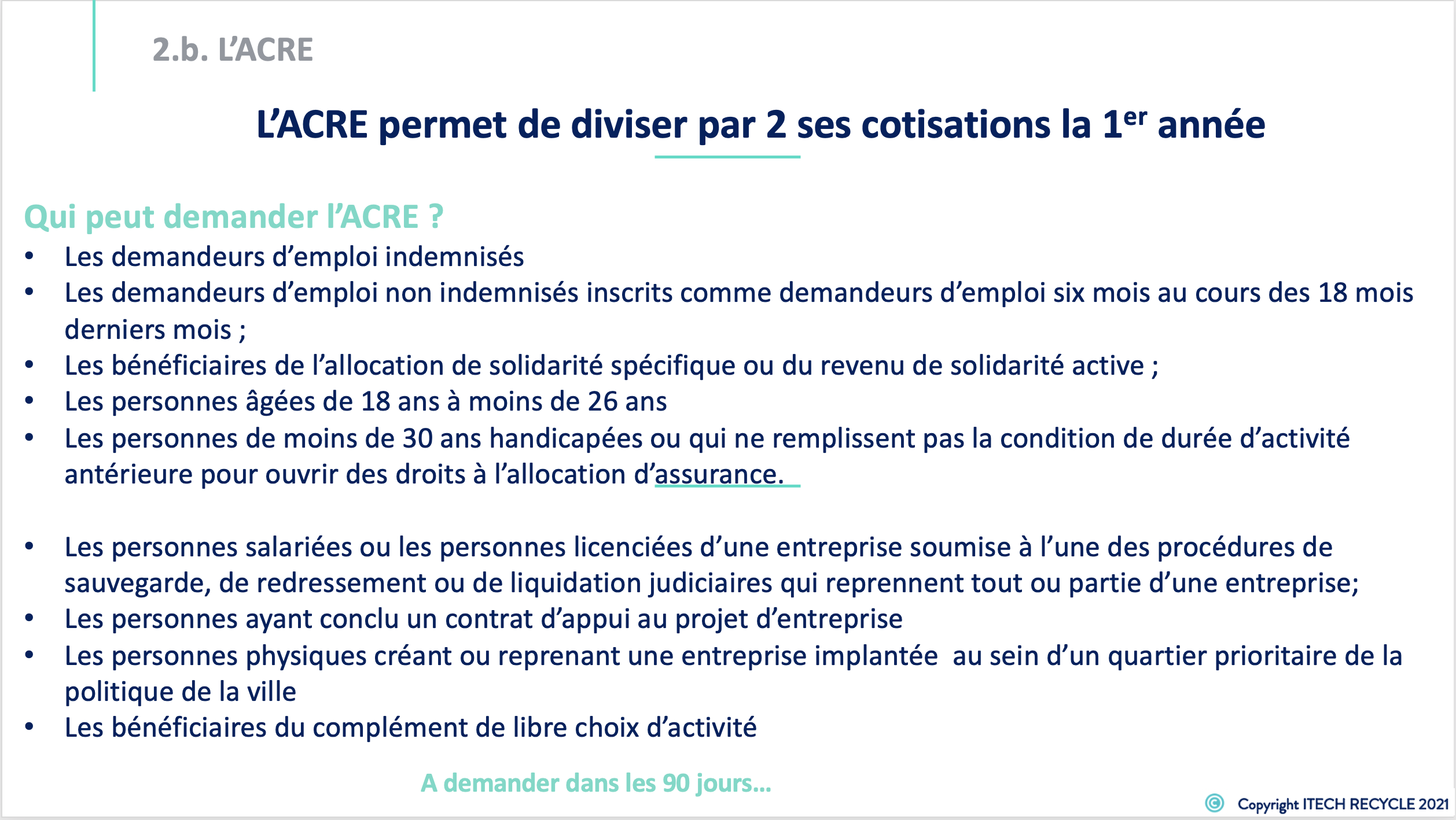 Formation creation micro entreprise 8